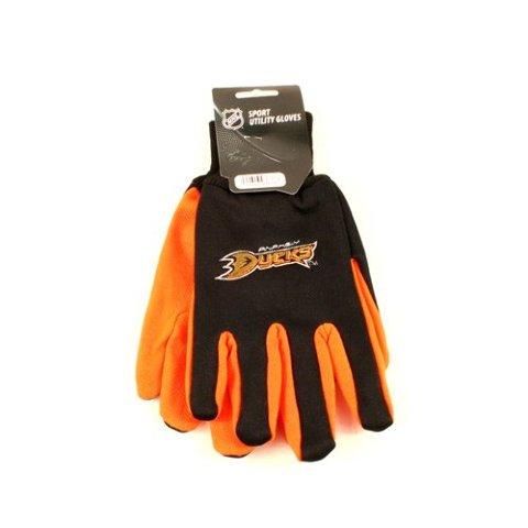 Nhl Licensed Utility Gloves Anaheim Ducks Two Tone Team