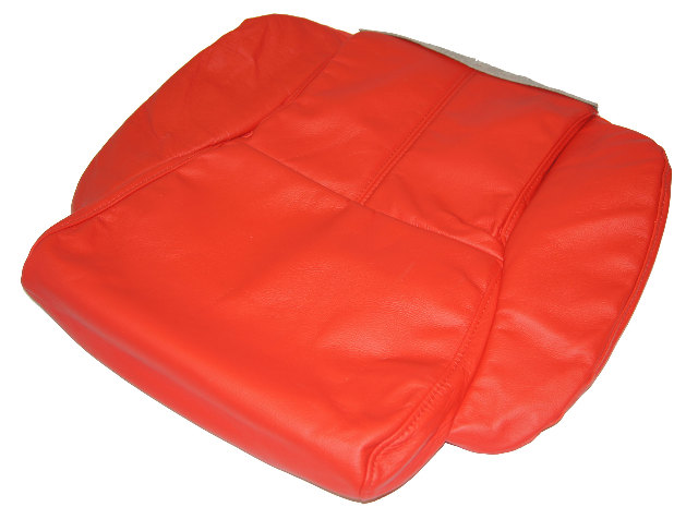 1994 1995 1996 Corvette C4 Non Sport Red Lower Seat Cover