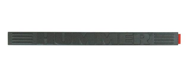 0309 Hummer H2 Front Scuff Sill    Trim    Plate Ebony 10358762