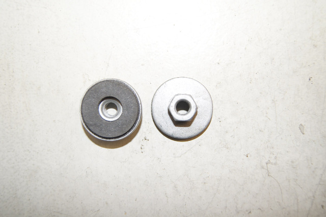 Hex Nut With Washer With Rubber  P  U0026 R Fasteners Inc