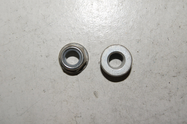 Flanged Hex Nut With Nylon Infasco Nut Lp Mississauga Ont