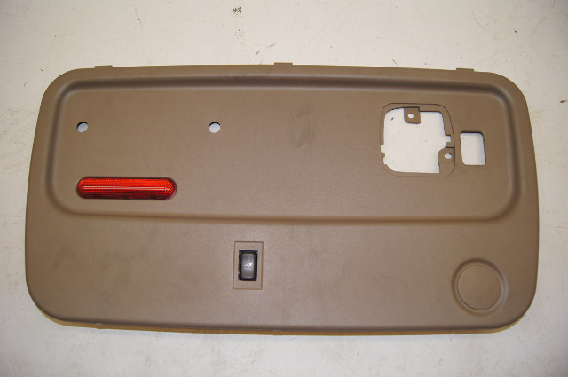 2003 chevy kodiak rear door panel tan w