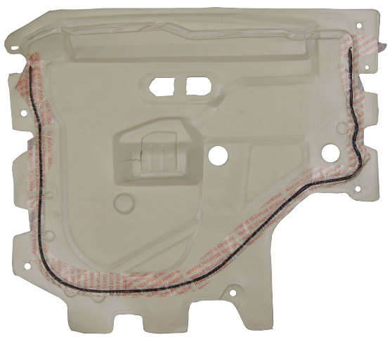 2007-2014 GM Trucks Right Rear Door Panel Inner Insulation ...