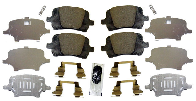Front Brake Pad Kit Genuine Gm 20881786 Acdelco 171 0995