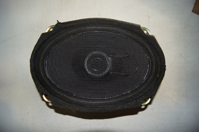 Chevy Auxiliary Speaker on 1991 Camaro Tire