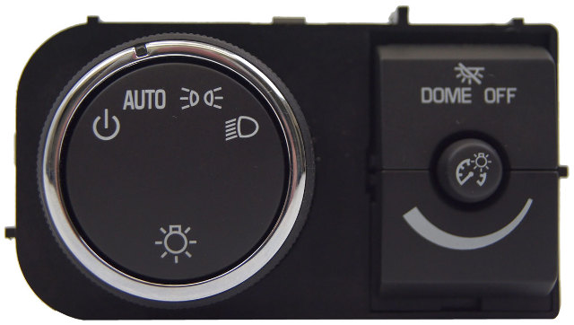 Gm Vehicles Headlamp Switch With Interior Dimmer W  O