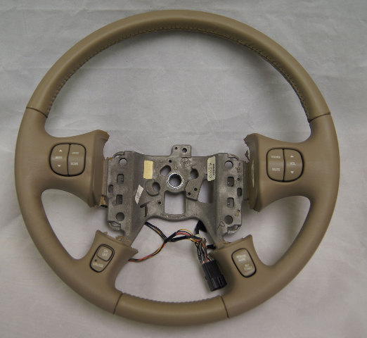 Ttg E U Gm Buick Le Sabre Lesabre Steering Wheel Md Neutral Leather