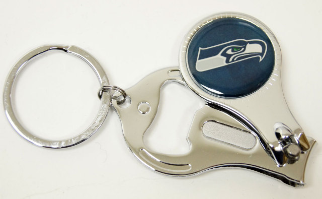 Nfl Licensed Football Seattle Seahawks Nail Clipper Bottle