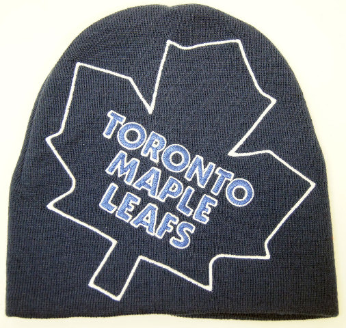 Nhl Licensed Hockey Toronto Maple Leafs Logo Hype Knit