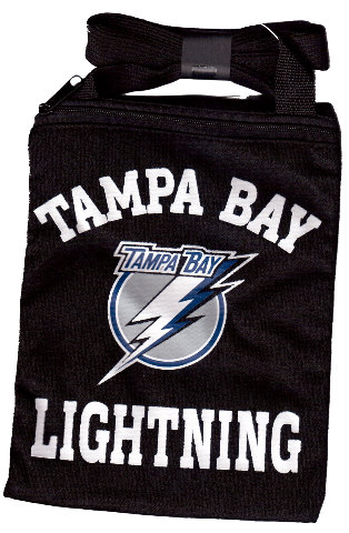 Nhl Licensed Hockey Tampa Bay Lightning Game Day Pouch Black