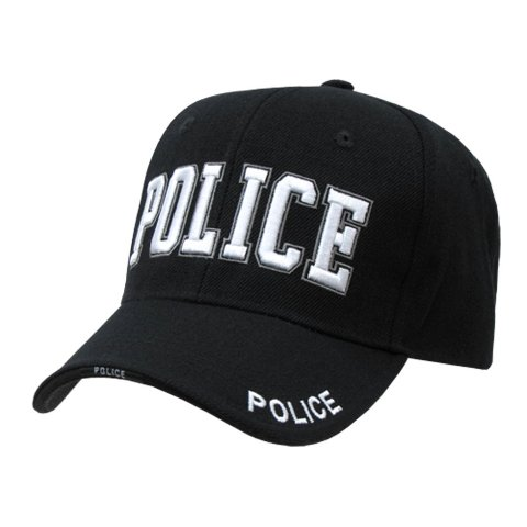 Police Embroidered Border Pattern Deluxe Law Enforcement