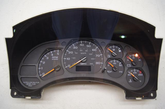 07 09 Gmc Topkick Chevy Kodiak Instrument Panel Gage 94669684