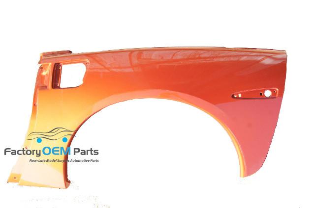C Coupelhorange Corvette C Coupe Lh Drivers Side Quarter Panel Orange