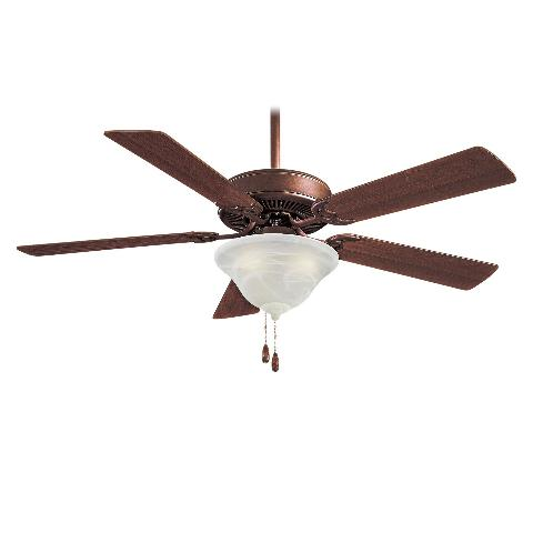F Orb Minka Aire F Contractor Traditional Ceiling Fan W Light