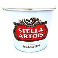 Officially Licensed Stella Artois Lewen Belgium Ice Beer Bucket Drink Holder 5qt