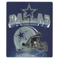NFL Licensed Football Northwest Dallas Cowboys Gridiron Fleece Throw Blanket