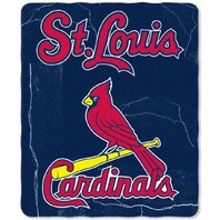 MLB Licensed Baseball St. Louis Cardinals Fleece Throw Blanket Cards Saint