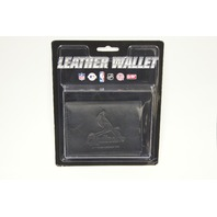 MLB Licensed Baseball St. Louis Cardinals Black Leather Tri Fold Wallet