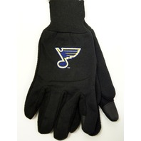 NHL Licensed Hockey St. Louis Blues Technology Gloves Texting Touchscreen Saint