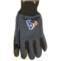 NFL Licensed Football Houston Texans Touch Screen Technology Texting Glove