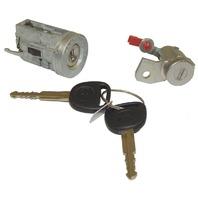 2006-2010 Hummer H3 New OEM Ignition Cylinder & Door Lock With 2 Keys 10392385