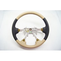 New 99-01 Isuzu VehiCROSS OEM Steering Wheel Tan Black Leather