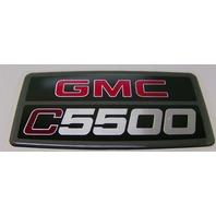HOOD/FENDER EMBLEM GMC C5500 DECAL STICKER TOPKICK
