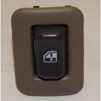 POWER WINDOW SWITCH REAR (SINGLE) W/BEZEL (NEUTRAL/TAN)