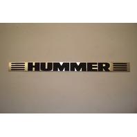 Hummer H2 Door Sill Scuff Kick Plate Molding 15137566 RH Passenger Front