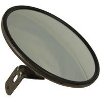 """8"""" Circle Outside Rear View Side Hood/Fender Aux Blind Spot Mirror w/Bracket"""