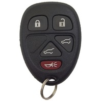 2007 GM Export Only Key Fob W/O Remote Start Transmitter New OEM 15913422