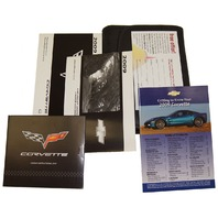 NEW 2009 Chevrolet Corvette Owners Manual Kit Complete Case