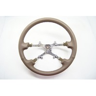 Toyota Camry 1997-2001 Steering Wheel Tan Leather Without Controls