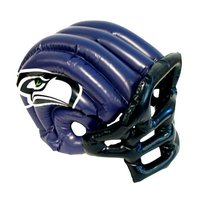 NFL Licensed Seattle Seahawks Inflatable Helmet Hat Cap