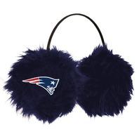 NFL Licensed Football NFL New England Patriots Earmuffs Cheermuffs Blue Furry