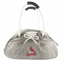 MLB Baseball Licensed Purse St. Louis Cardinals Hoodie Bowler Hobo Style Purse