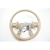 GM Buick Le Sabre 2000-2005 Steering Wheel Md Neutral Leather w Cruise/Aud/Temp
