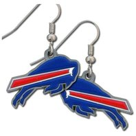 NFL Licensed Football Buffalo Bills Team Dangle Earrings