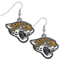 NFL Licensed Football Jacksonville Jaguars Team Dangle Earrings
