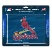 """MLB St. Louis Cardinals Officially Licensed Flexible Cutting Board 15""""x12"""" Mat"""