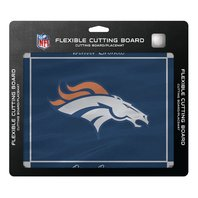 "NFL Denver Broncos Officially Licensed Flexible Cutting Board 15"" x 12"" Placemat"