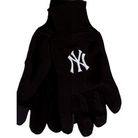 MLB Licensed Baseball New York Yankees Technology Gloves Texting Cards NY
