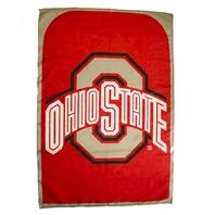NCAA Licensed Ohio State Buckeyes Football Team Fan Flag Cape Banner