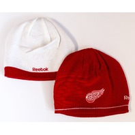 Reebok Detroit Red Wings NHL Reebok Reversible  Winter Beanie Toque Hat