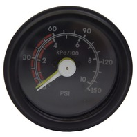 "1993-2009 GM Trucks School Bus Air Brake Pressure Gauge 0-150 PSI 2"" 94667405"