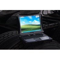 Panasonic ToughBook CF-18 MK5 1.2Ghz 1.5GB 80GB HD Touch Screen Dual OS Complete