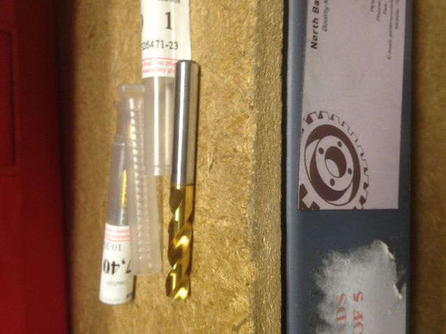 .2913 7.4mm HSCO TiN STUB DRILL