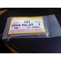 ".1200"" #31 HSCO TiN COATED SCREW MACHINE LENGTH DRILL"
