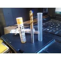 """.2008"""" 5.1mm HSCO TiN STUB DRILL"""
