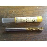 ".2165"" 5.5mm COBALT TiN COATED SCREW MACHINE LENGTH DRILL"